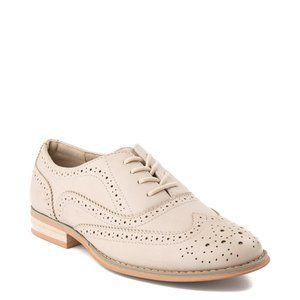 Wanted Shoes Women's Babe Almond Toe, Oxfords Pink